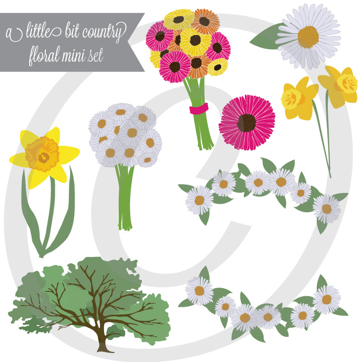 A Little Bit Country Mini Florals