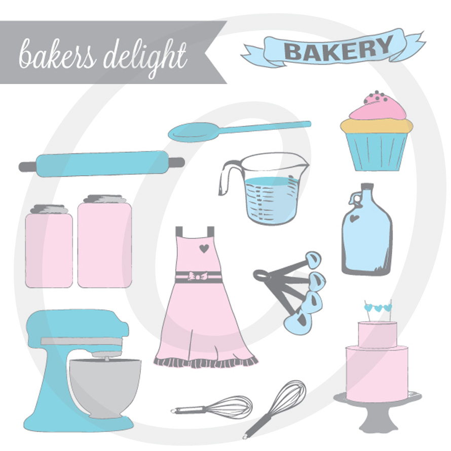 Bakers Delight - Graphics Set
