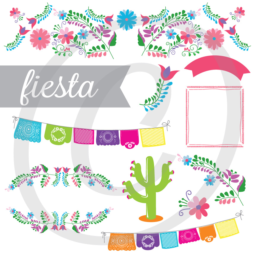 Fiesta - Graphics Set