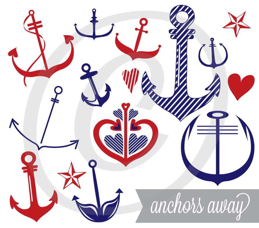 Anchors Away - Graphics Set
