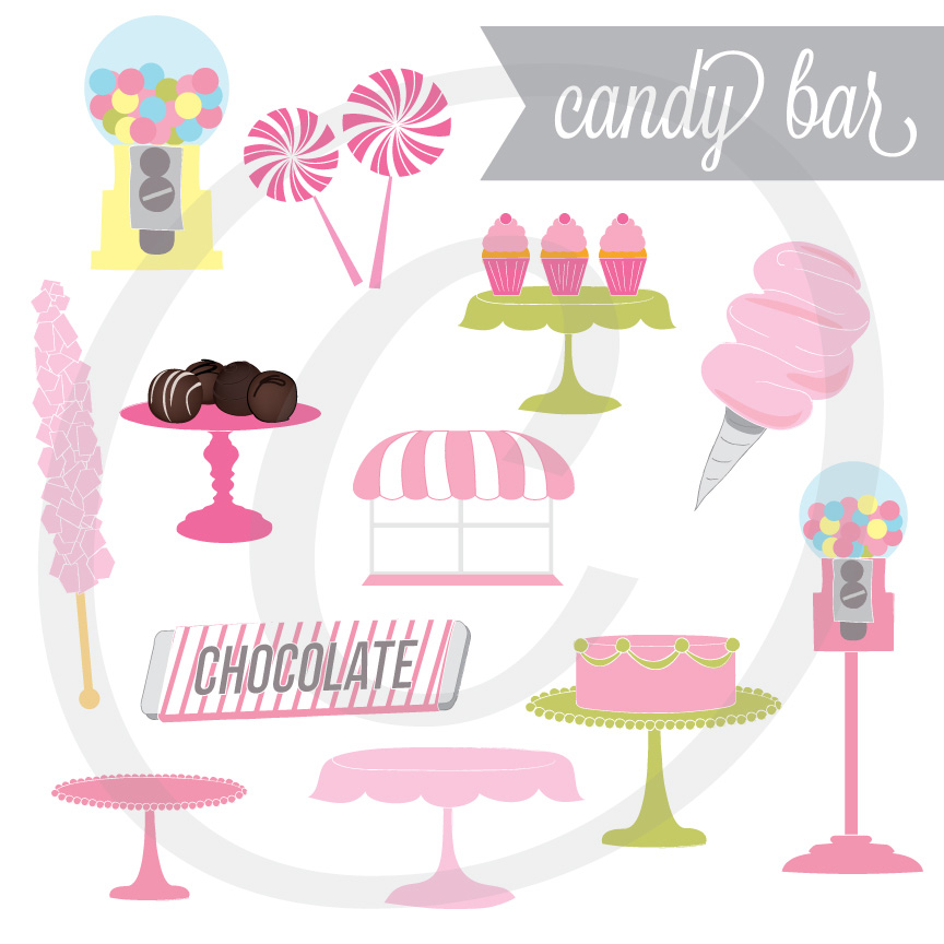 Candy Bar - Graphics Set