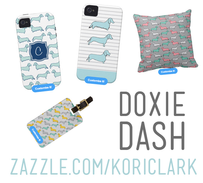 Doxie Dash Zazzle