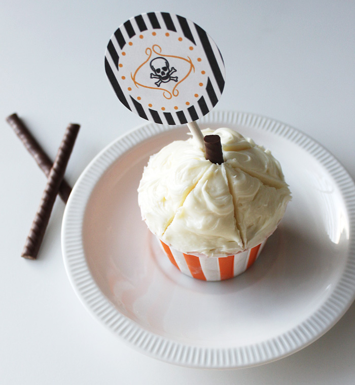 Halloween Cupcake Toppers 1