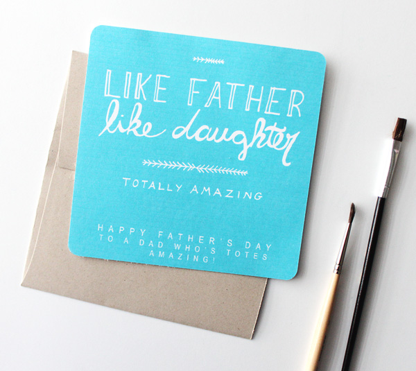LikeFatherLikeDaughterCard1