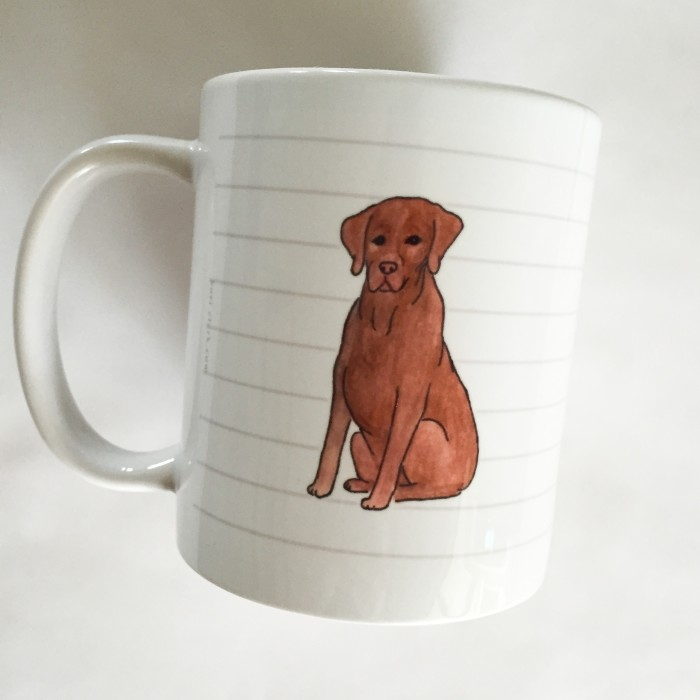 Chocolate Lab Mug - Studio Sale!