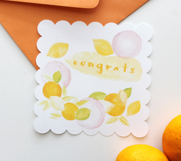 WatercolorFruitCongrats