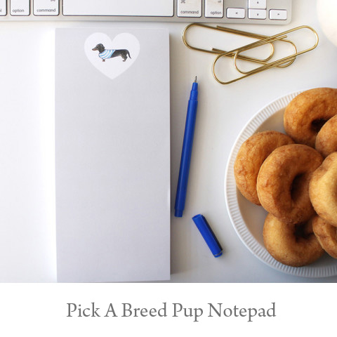 Pup Note Pad - You Pick the Breed