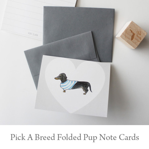 Pup Note Cards - You Pick the Breed