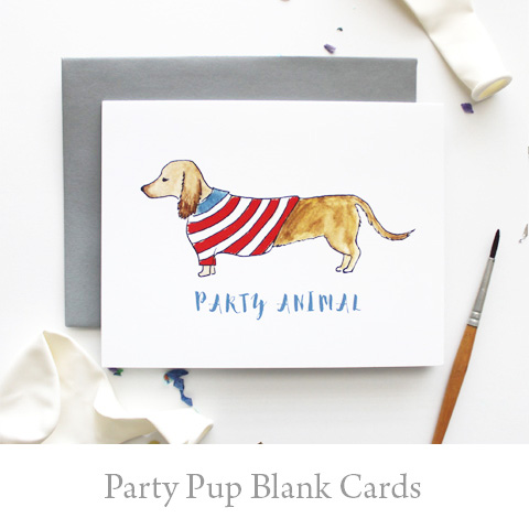 Party Pup Card