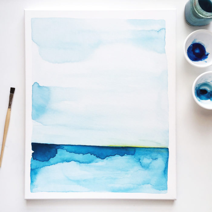 kc ocean watercolor art