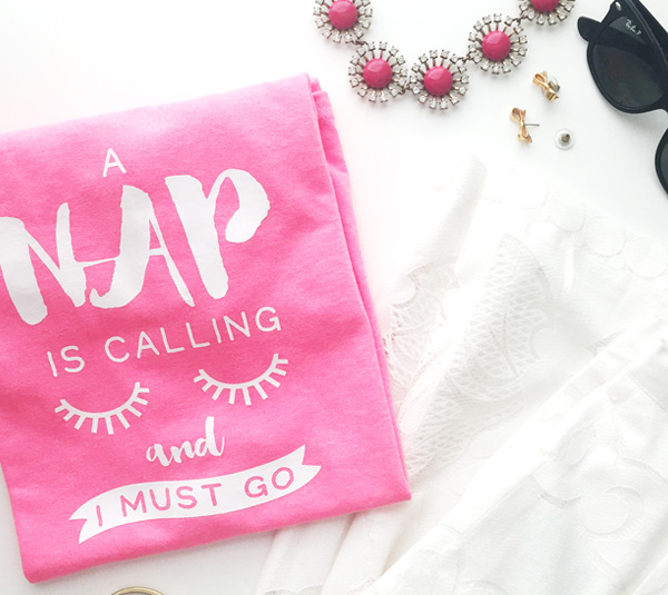 A Nap is Calling {and other new projects}