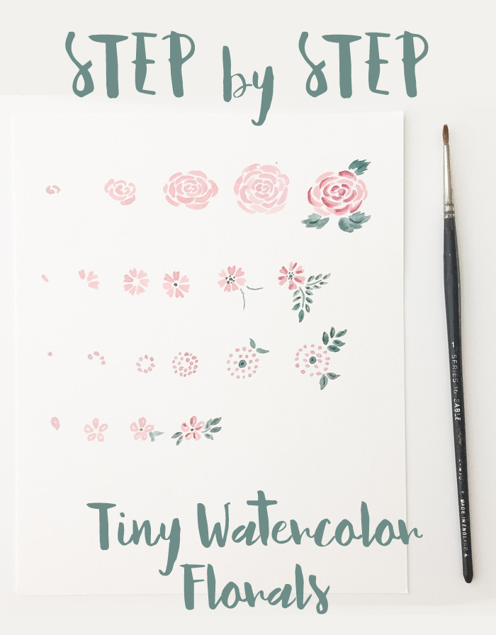 StepByStep Watercolor Floral
