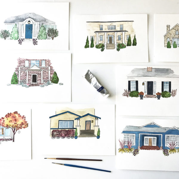 Illustration work for HGTV