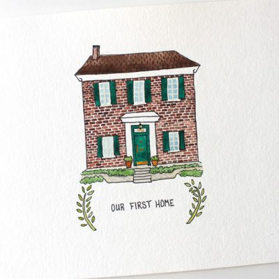 First Home Watercolor B